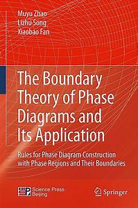 The Boundary Theory Of Phase Diagrams And Its Application Rules For Phase Diagram Construction With Phase Regions And Their Boundaries