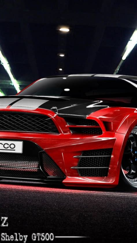 cars tuning ford mustang  shelby gt wallpaper