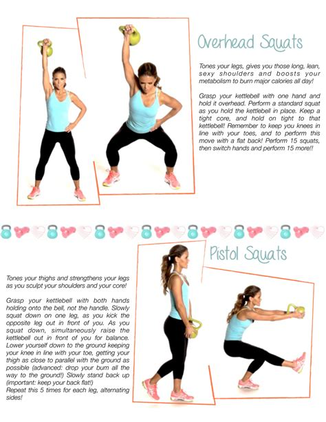 kettlebell legs workout workouts leg killer printable kettlebells days exercises ball fitness kettle exercise tone toneitup routines squats herausforderungen motivation