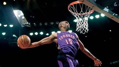 Vince Carter Dunk Mcgrady Tracy Nba Raptors