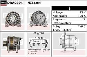 Alternator Fits Nissan Tiida C11 1 6 07 To 11 Hr16de Remy