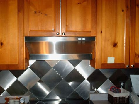 stainless steel kitchen backsplash tiles artistic tile stainless steel backsplash ideas for kitchen 8240