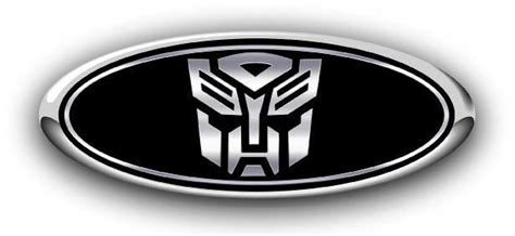 Ford F150 2007-2013 Autobot Custom Overlay Emblem Decals