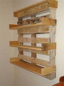 Diy pallet bookshelves pallet furniture pallets and for Homemade furniture instructions