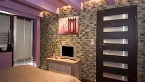 Cihlové obklady interiér
