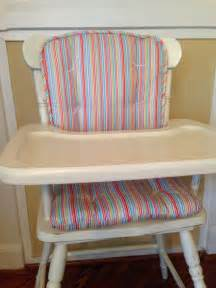bright stripe high chair pads child s rocking chair