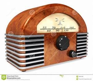 Art-Deco Radio Stock Photo - Image: 13647590