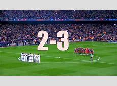 Real Madrid vs FC Barcelona 23 BARCELONA WIN EL CLASSICO