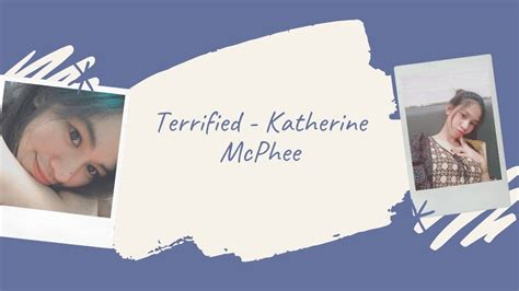 Terrified - Katherine McPhee (cover by Rhena Mengote ...