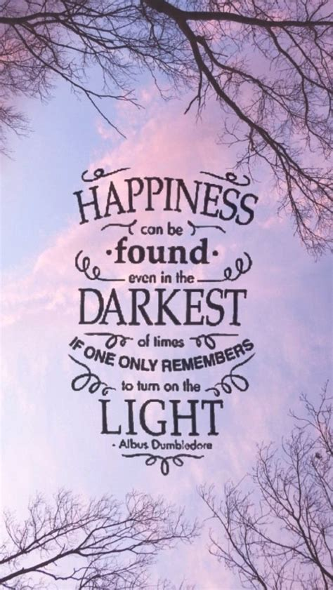 Dumbledore Light Quote by Can You Match The Harry Potter Quotes To The