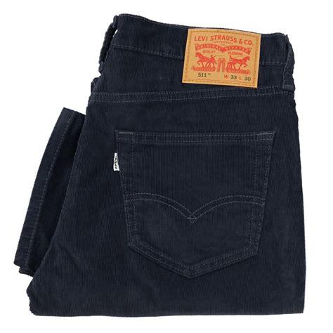 levis 511 slim levi 39 s 511 slim blue corduroy trousers