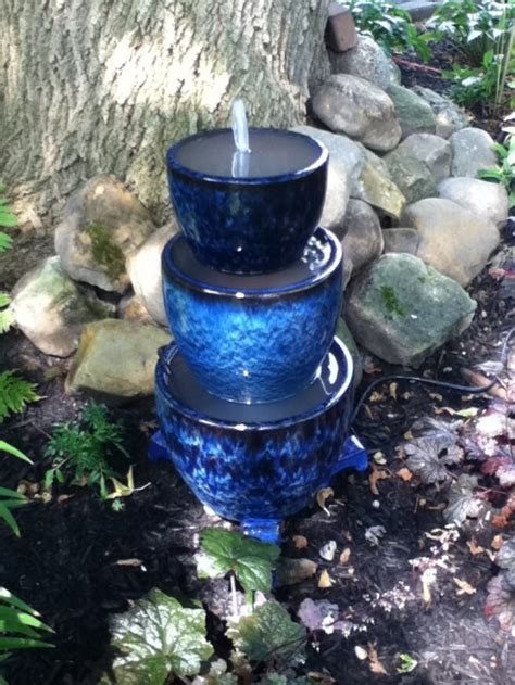 how to make a garden water feature diy 10 outdoor fountains style motivation