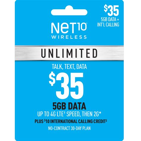 Health care plans to keep you. Net10 $35 Unlimited 30-Day Plan e-PIN Top Up (Email ...