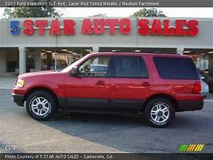 Laser Red Tinted Metallic - 2003 Ford Expedition Xlt 4x4