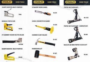 STANLEY Hand Tools: Sharp Shooter, Staple Gun, Hammer