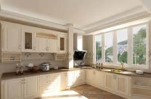 interior design kitchen pastoral style white kitchen interior design 3d house