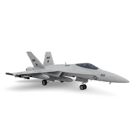 3d Model Of F A 18 Hornet Fighter Jet