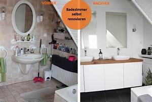 Bad Renovieren Selbst : ber ideen zu badezimmer renovieren auf pinterest ~ Lizthompson.info Haus und Dekorationen
