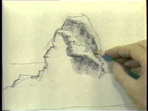 drawing landscapes  pencil  ink preview youtube