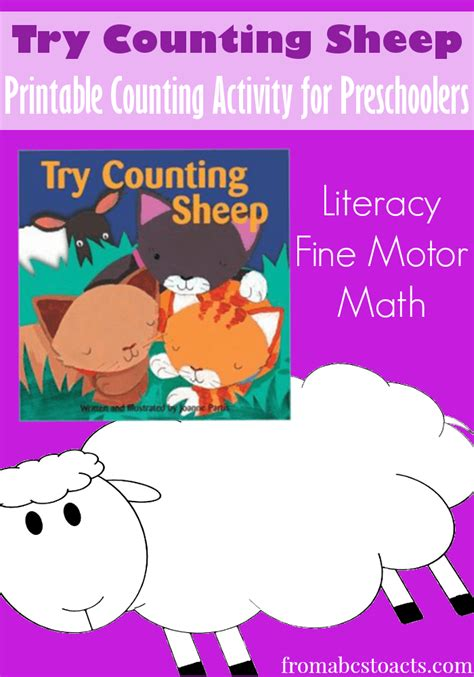 try counting sheep printable counting activity for 210 | Try Counting Sheep Counting Activity for Preschoolers