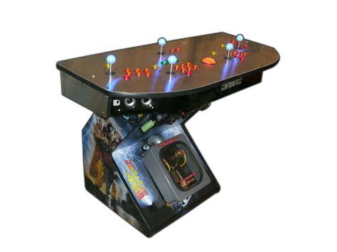 arcade pedestal gaming system 4 player hdtv hdmi mame tm ebay