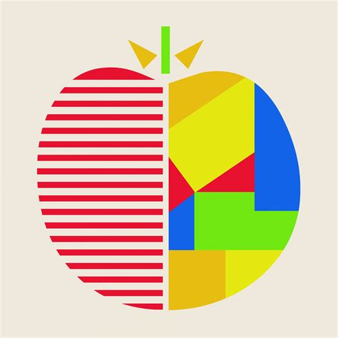 Apple Abstract Graphic Art Free Stock Photo - Public ...