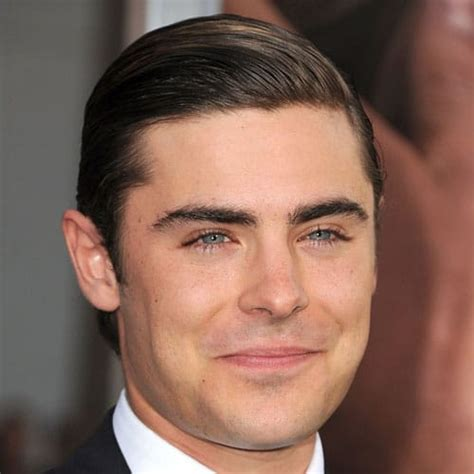 slicked  hairstyles