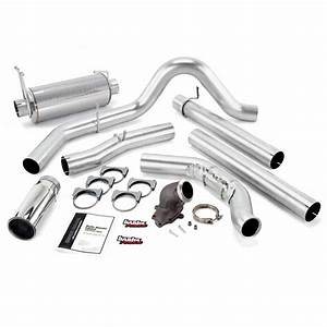 48654 Monster Exhaust System With Power Elbow  Single Exit