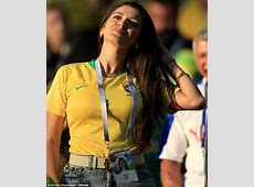 Brazilian soccer WAGS cheer on their partners at FIFA