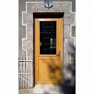 porte d39entree bois a la belle fenetre With belle porte d entrée
