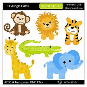 Baby Jungle Animals Clipart | Clipart Panda - Free Clipart ...