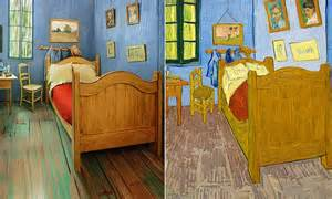 Room Identical To Vincent Van Gogh's Bedroom In Arles Is