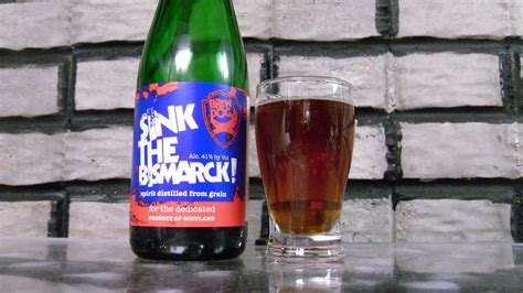 kupko s mind bottled brew dog sink the bismarck