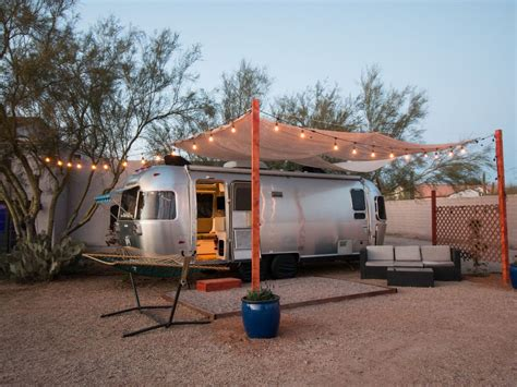 airstream tiny living  small farm   desert cave creek