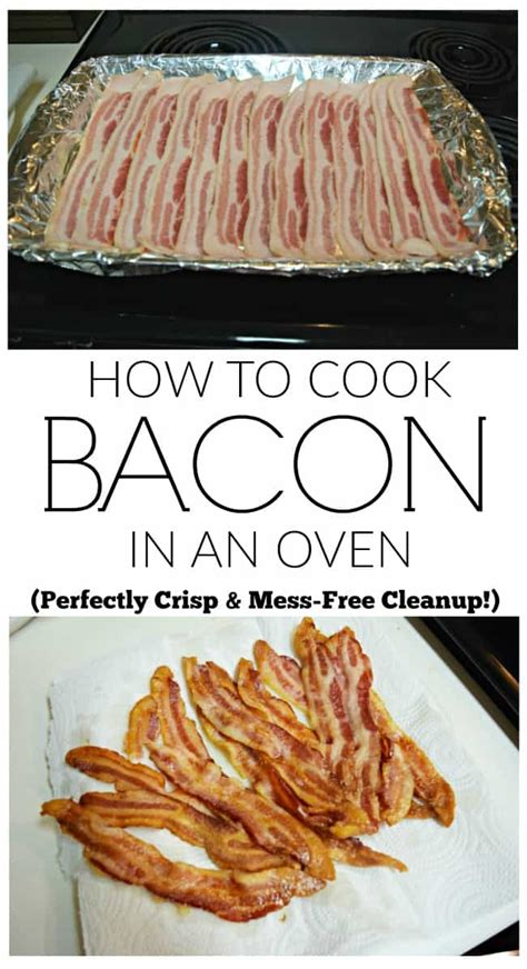 how to cook bacon in oven how to cook bacon in an oven