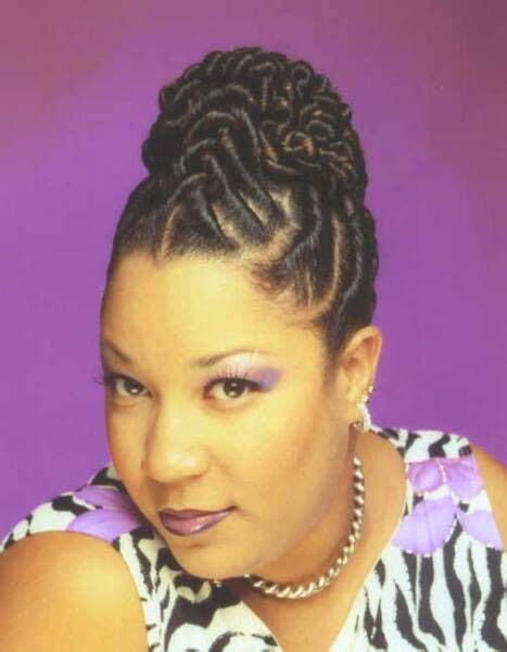 Black Hairstyles With Twists In The Front by Flat Twist Style Front Hair Hair Styles Black
