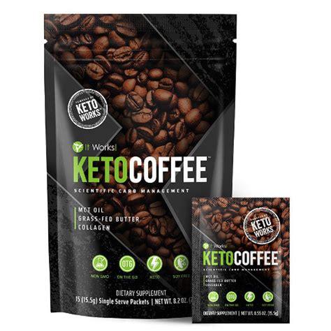Ce café instantané de la gamme it works est un véritable concentré d'énergie qui. It Works Keto Coffee - Ketosis Enhancer   Body Wraps Store