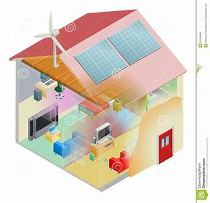 Negative Energie Im Haus : gr nes energie haus stockbilder bild 25525964 ~ Frokenaadalensverden.com Haus und Dekorationen