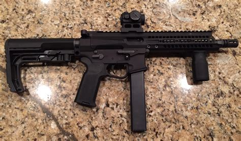 Pof-usa Psg 9mm Tactical Ar-15-type Semi-auto-only Pistol