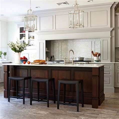 organized efficient kitchen  cool  classic styling