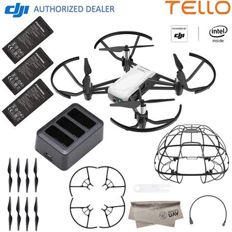 dji tello quadcopter drone boost combo  hd camera  vr   videosimagespictures