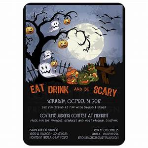 Eat Drink and Be Scary-A Spooky Graveyard Halloween Party