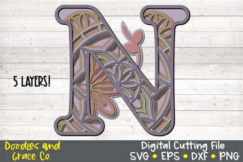 Aug 04, 2020 · layered mandala letters perfect for shadow boxes or signs. Letter N 3D Layered Alphabet Mandala SVG - EPS - PNG - DXF ...