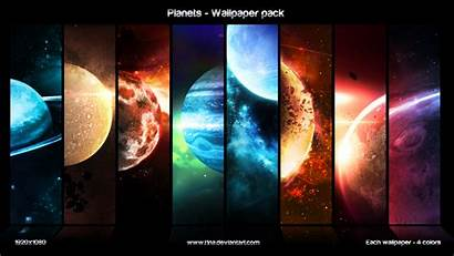 Planets Pack Wallpapers Deviantart T1na Deviant Awesome
