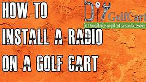 Golf Cart Mp3 Stereo
