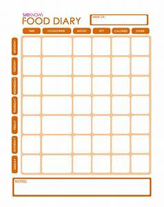 search results for downloadable food diary template With food diaries templates