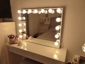 Table De Maquillage Ikea : miroir deluxe tr s grand hollywood clair par crafterscalendar all that she wants makeup ~ Nature-et-papiers.com Idées de Décoration