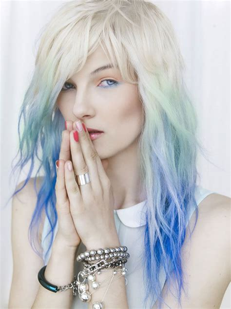 How To Get Ora Hair Color by Ora S Dip Dye Hair 9 More Rad Rainbow Hairstyles