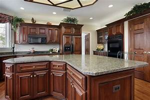 Cherry Cabinets - Kitchen Cabinets Reno