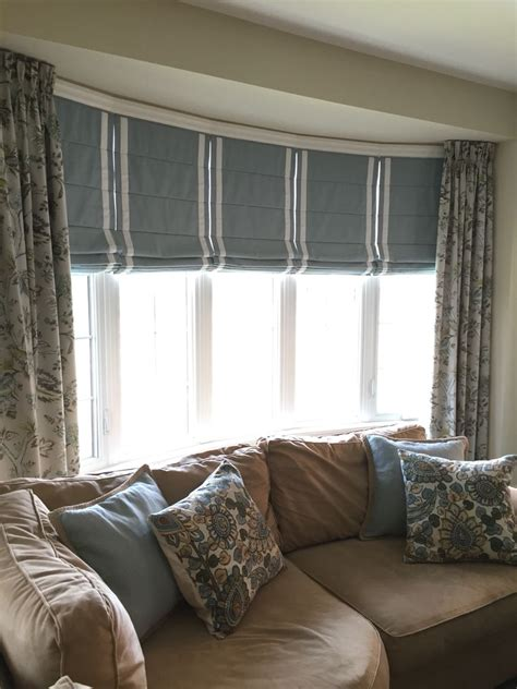 Bow Window Treatments by I Am Often Asked How To Dress A Bow Window Here Is A